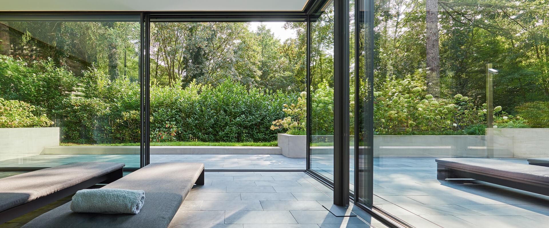 Terrassendach / Glashaus - Straub Wintergarten