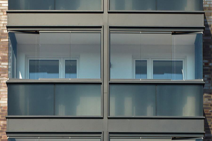 Balkonverglasung SL 25