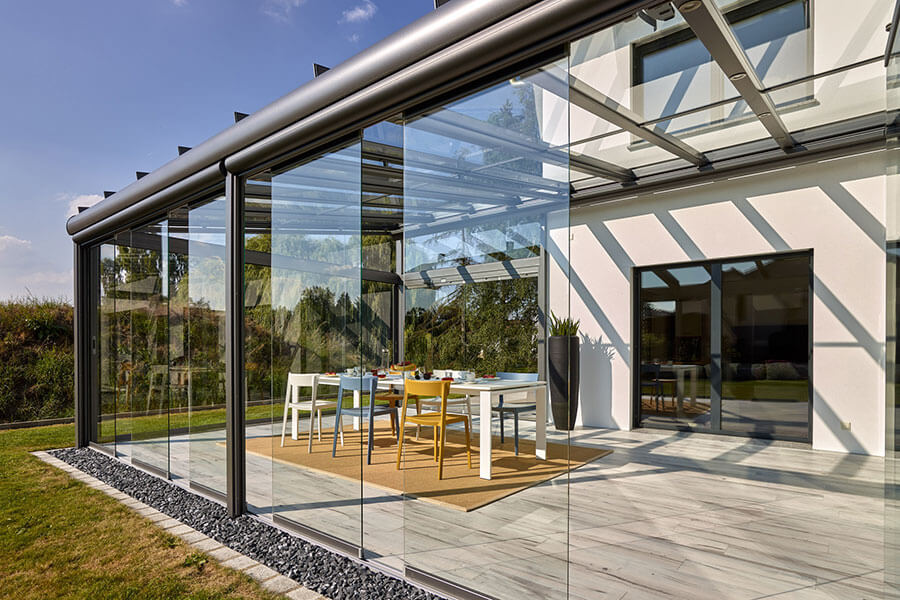 Wintergarten aus Aluminium - SDL Akzent plus