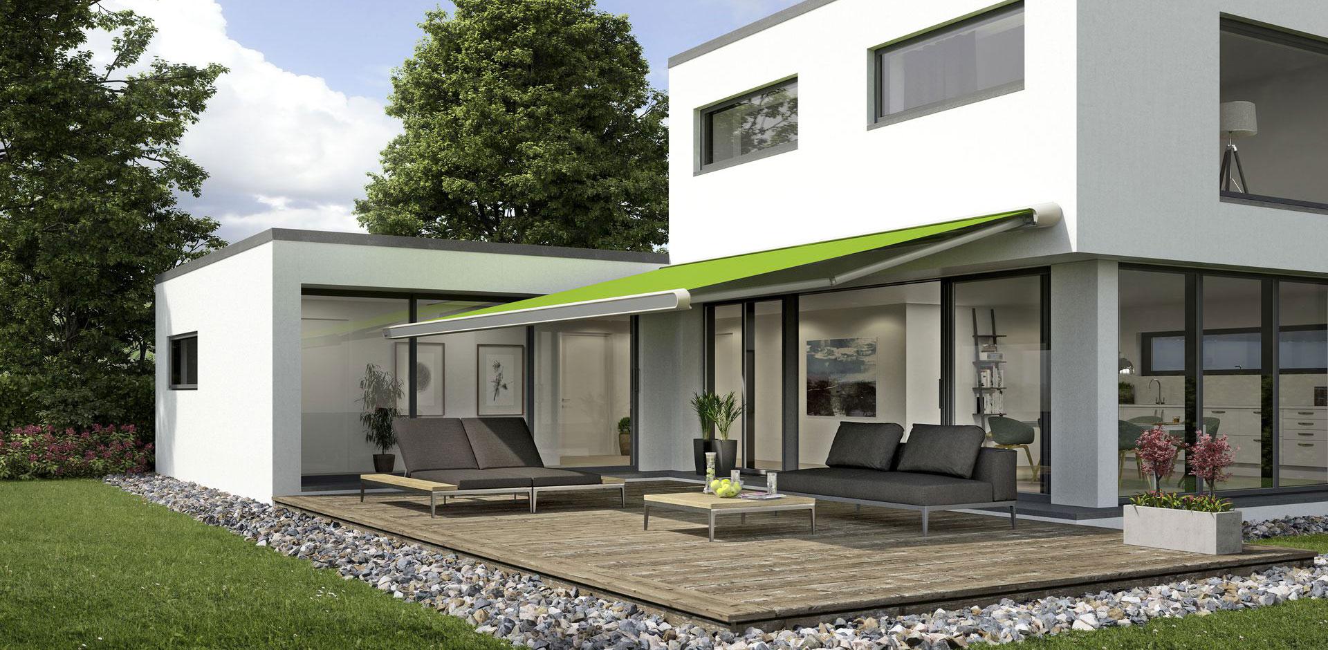 Beschattungen für Terrassendach / Glashaus und Wintergarten