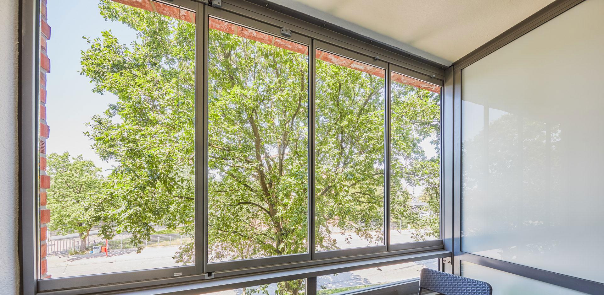 Balkonverglasung SL 25R