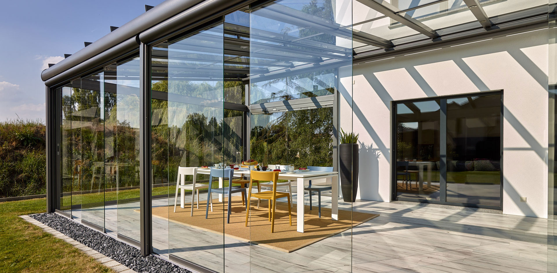 Terrassendach Aluminium SDL Atrium plus