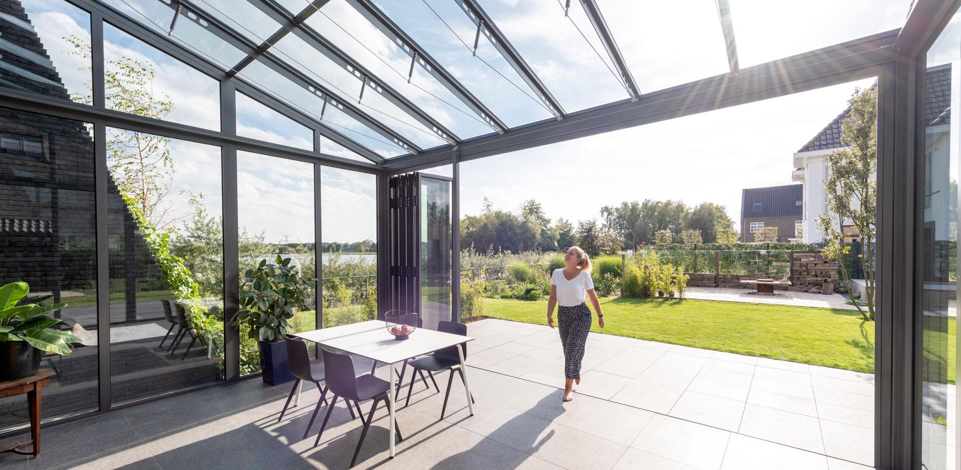 Wintergarten Aluminium SDL Akzent Vision